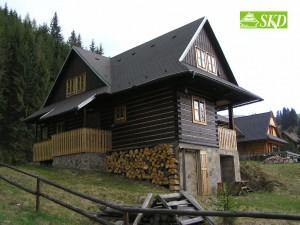 Zrubová chata 2